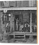Country Store, 1939 Wood Print