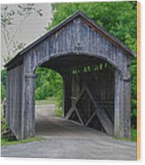 Country Store Bridge 5656 Wood Print