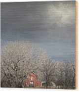 Country Storms.. Wood Print by Al  Swasey