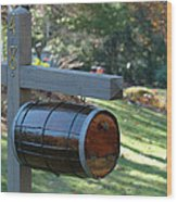 Countryside Mailbox #10 Wood Print
