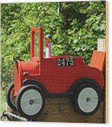 Countryside Mailbox #12 Wood Print