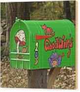 Countryside Mailbox #15 Wood Print