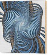 Coupling Wood Print