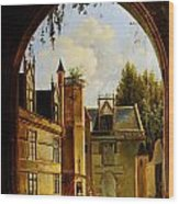 Cour Hotel De Cluny Mnma Cl23879 Wood Print