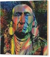 Courage Chief Joseph Wood Print