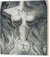 Courtship Wood Print