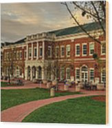 Courtyard Dining Hall - Wcu Wood Print