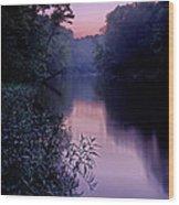 Coutois Creek Wood Print
