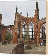 Coventry Cathedral 6003 Wood Print