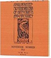 Cover For The Artist Magazine, November 1897 Wood Print