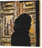 Covered Silhouette Wood Print by Joshua Van Lare