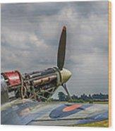 Covers Off Hawker Hurricane Wood Print
