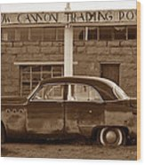 Cow Canyon Trading Post 1949 Wood Print