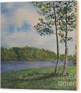 Cowan Lake Wood Print