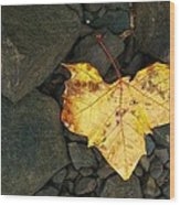 Coward's Heart Wood Print