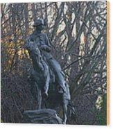Cowboy 1908 By Frederic Remington Wood Print