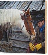 Cowboy Blues Wood Print