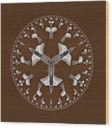 Cowboy Bolo Tie Wood Print