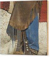 Cowboy Boot Wood Print