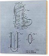 Cowboy Boot Patent Wood Print