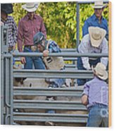 Cowboy Countdown Wood Print
