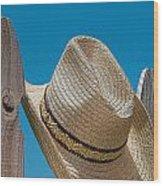 Cowboy Days Wood Print