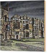 Cowdry Ruins Wood Print