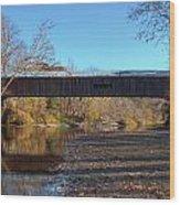 Cox Ford Bridge Wood Print