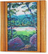 Cox Hollow Wood Print