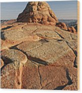 Coyote Buttes Rock Formation Wood Print