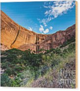 Coyote Gulch Sunset - Utah Wood Print