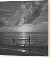 Cozumel At Sunset Wood Print