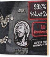 Cpr - Christian Prayer Riders Wood Print