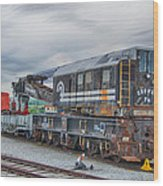 Cr Crane 45210   7d02539h Wood Print