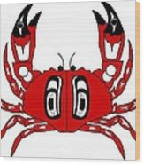 Crab Dungeness Wood Print