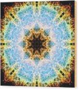 Crab Nebula II Wood Print