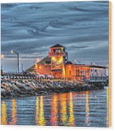 Crab Shack Seafood Restaurant Wood Print