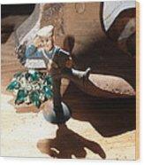 Cracker Jack Hound Wood Print