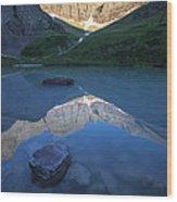 Cracker Lake Wood Print
