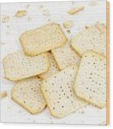Crackers Wood Print