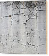Crackle 1 Wood Print