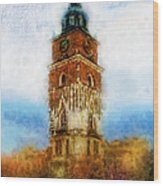 Cracov City Hall Wood Print