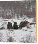 Craig County Farm Wood Print