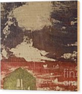 Cranberry Season Wood Print by Deborah Talbot - Kostisin