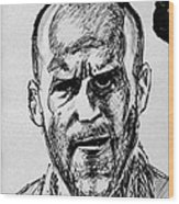 Jason Statham Wood Print