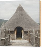Crannog - Scotland Wood Print