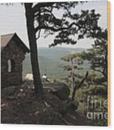 Cranny Crow Overlook At Lost River State Park Wood Print