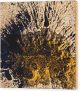 Crater Wood Print