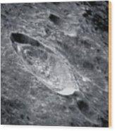 Crater Einthoven Wood Print