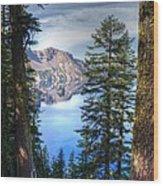 Crater Lake 1 Wood Print